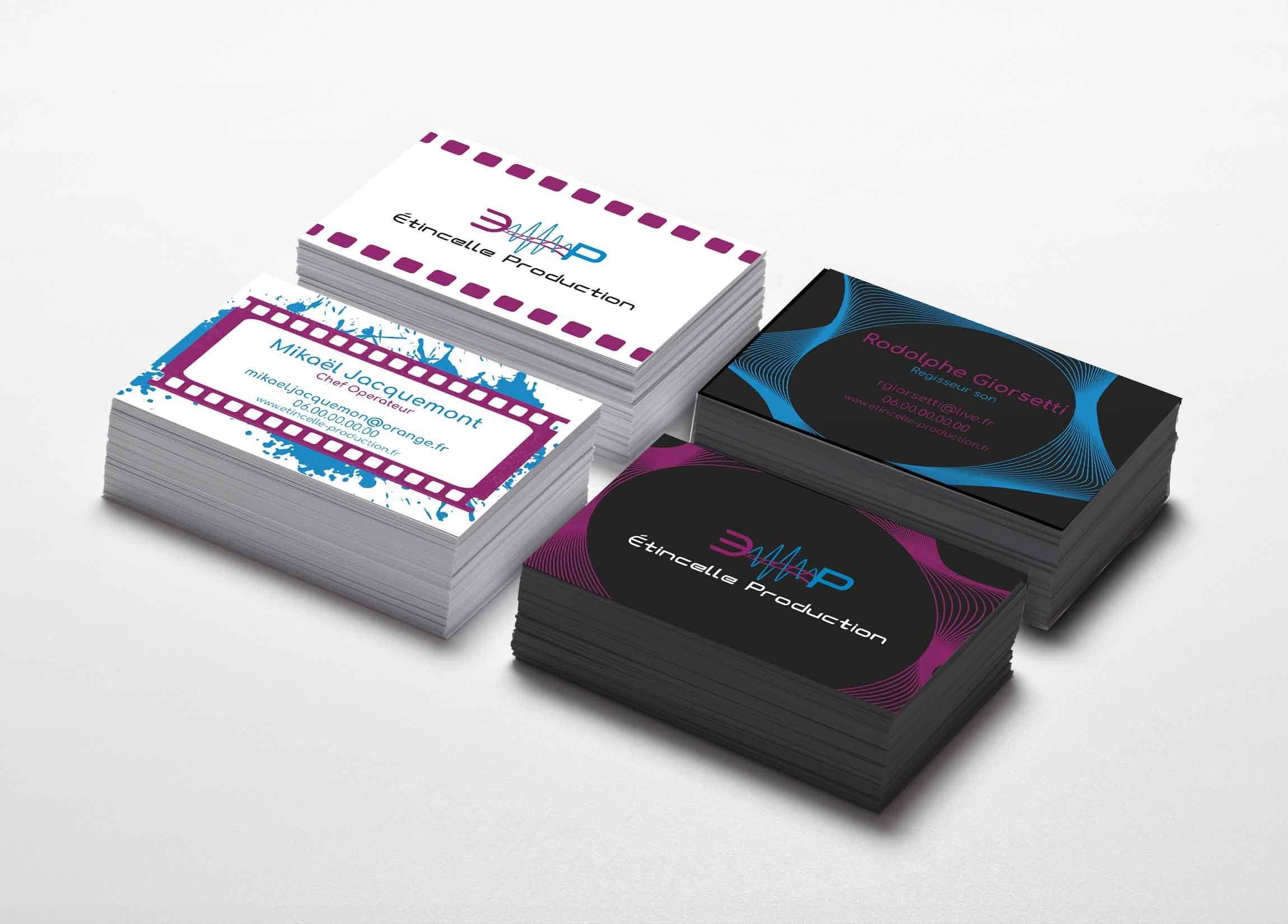 Etincelle Production carte-de-visite